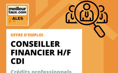Offre d'emploi : Conseiller Financier Crédits Professionnels en CDI